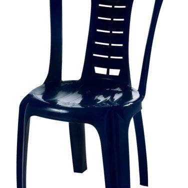 כיסא פלסטיק דוד כחול