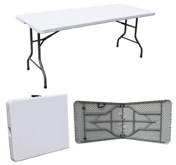 """שולחן מתקפל רב שימושי 180 ס""""מ"""