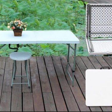 שולחן מתקפל רב שימושי 120 ס