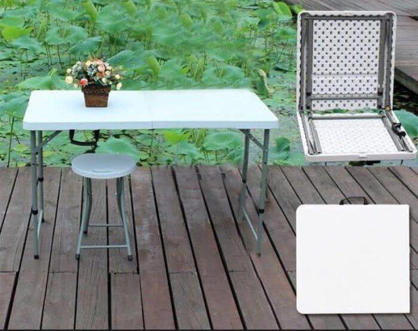 """שולחן מתקפל רב שימושי 120 ס""""מ"""