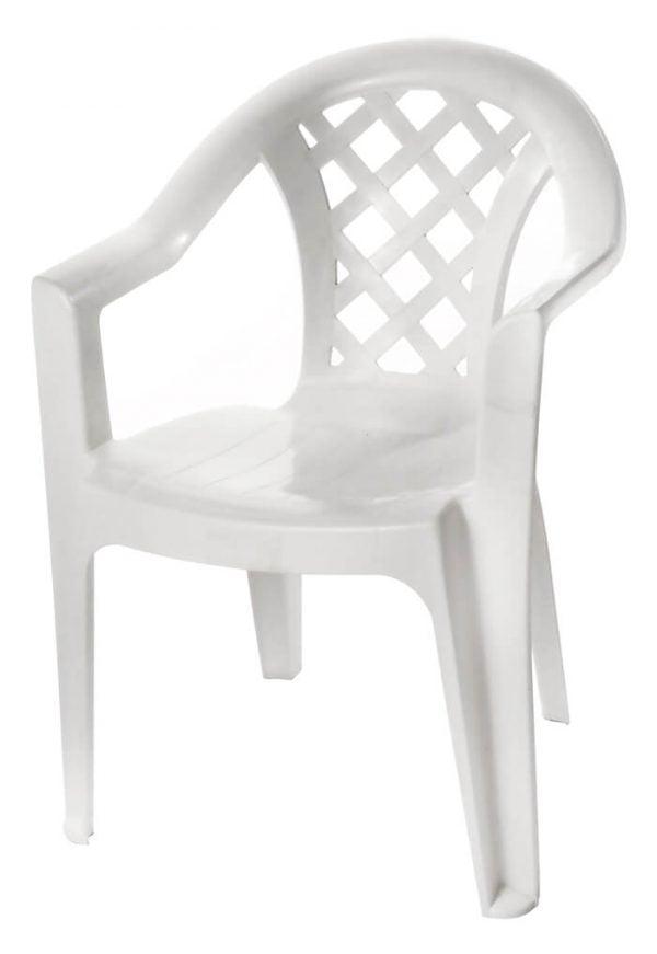 כיסא מונובלוק נעם לבן