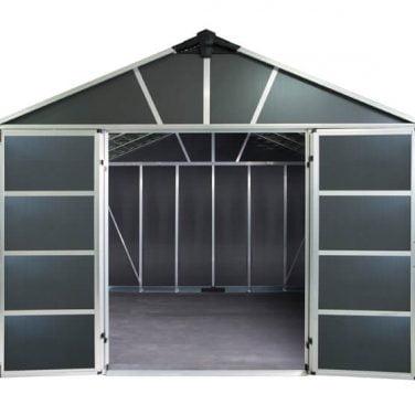 מחסן יוקון אפור כהה 11X9S + רצפה