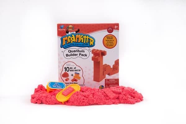 ערכת בצק קינטי אדום+ מכשיר ליצירת קוביות